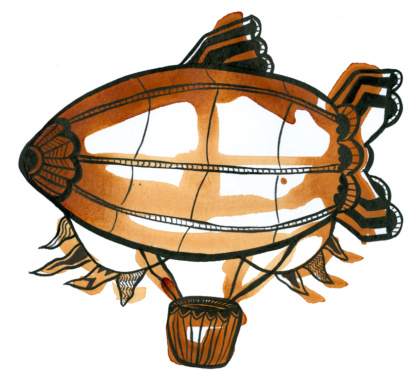 Orange pekoe dirigible